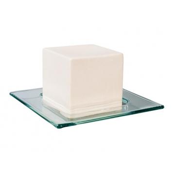 Keramická kostka malá + sklo