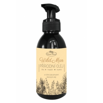 Mandlový olej  WILD MAN 150 ml