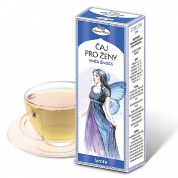 Bylinný čaj pro ženy - VODA ŽIVOTA