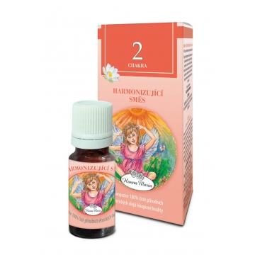 2. čakra - harmonizující - éterický olej