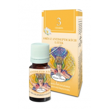 3. čakra - antiseptická - éterický olej