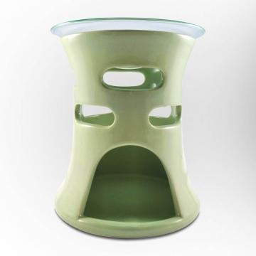 Aromalampa oválky zelená