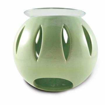 Aromalampa se sklem KOULE - sv. zelená